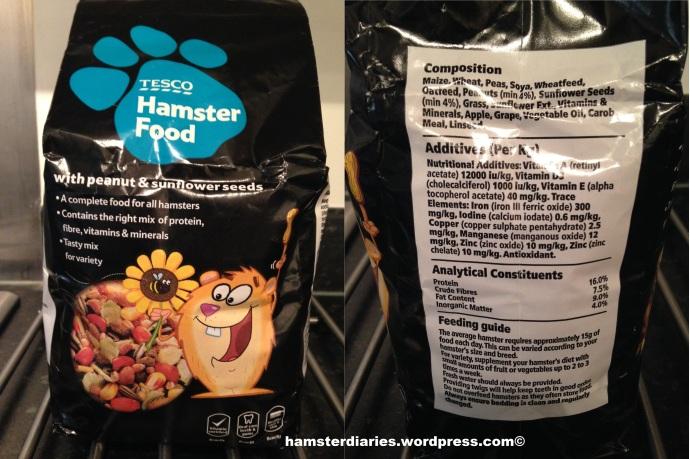 Tesco Hamster Food Review