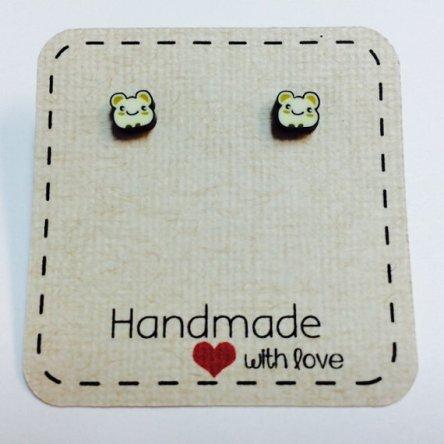 Cutest hamster earrings!