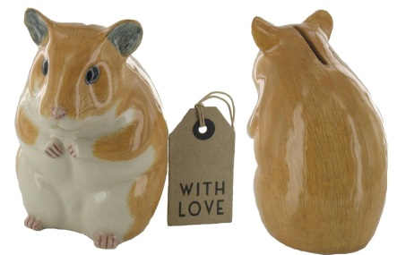 Hamster money box